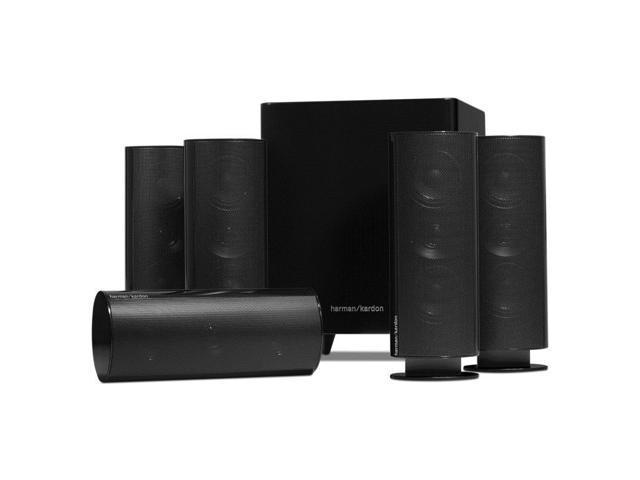 harman kardon hkts30 5 1 ch home theater speaker system. Black Bedroom Furniture Sets. Home Design Ideas