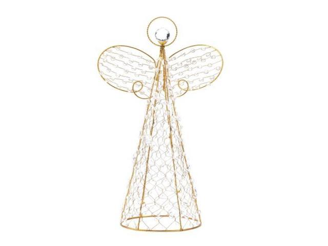 Beaded Wire Christmas Angel