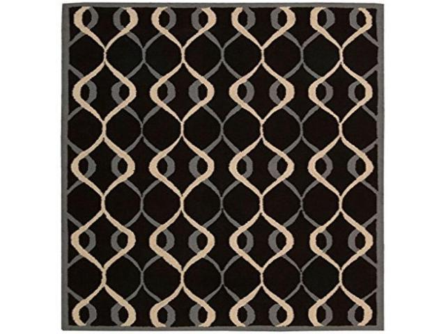 Nourison Decor Black Area Rug