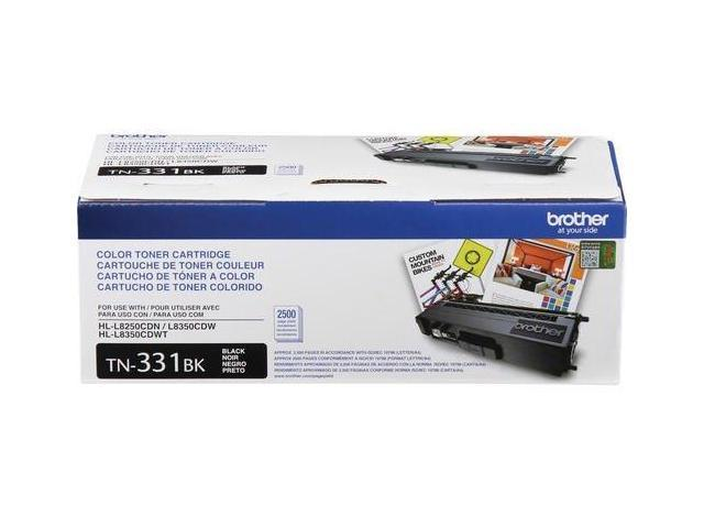 Brother TN331BK Standard Yield Toner Cartridge Black