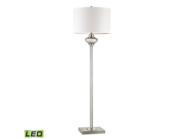Dimond Edenbridge Floor Lamp in Antique Silver with Crystal Accents - D2553-LED
