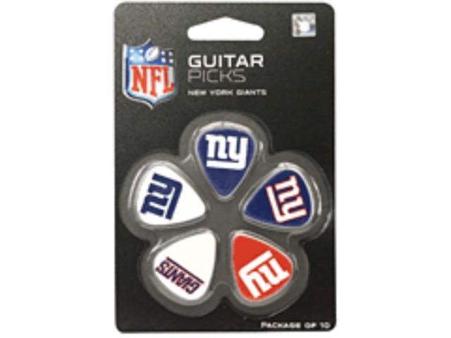 NFL New York Giants Guitar Pick (10-Pack), 1-Inch x 1-3/16-Inch, Blue