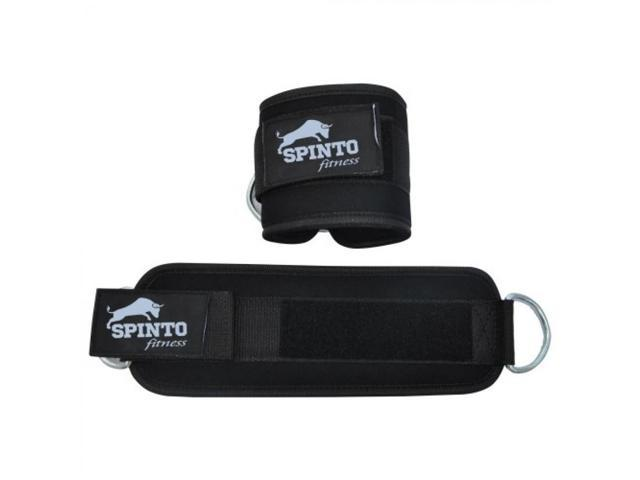 Spinto Fitness Ankle Cuff - Black