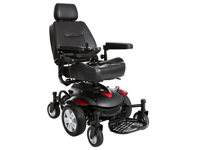 Titan AXS Mid-Wheel Power Wheelchair, 16