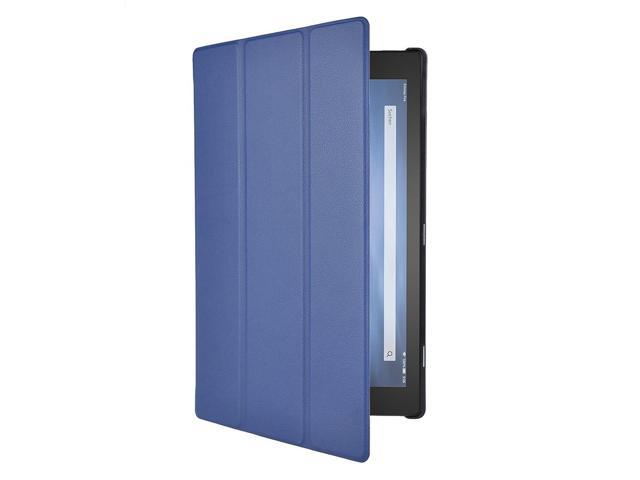 SODIAL Slim Smart Cover Case for Fire HD 10 10-Inch Tablet (Blue)