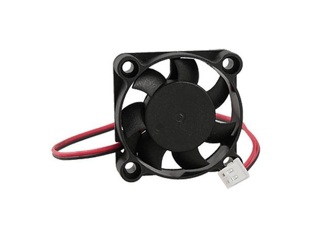 SODIAL 5 x DC 24V 4010 40x40x10mm 2-Wire Cooling Fan Black for PC Case Cooler