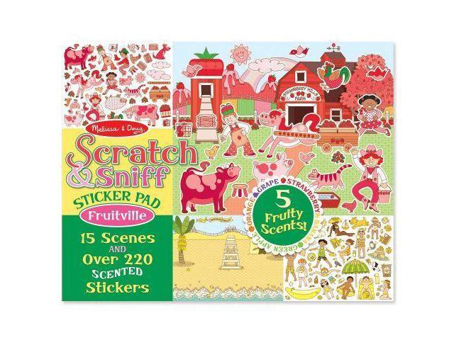 Fruitville Scratch And Sniff Sticker Pad