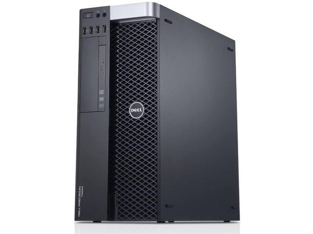 Dell Precision T3600 Workstation E5-1620 Quad Core 3.6Ghz 32GB 256GB SSD Dual DVI