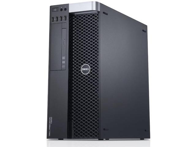 Dell Precision T3600 Workstation E5-1620 Quad Core 3.6Ghz 16GB 256GB SSD Q2000