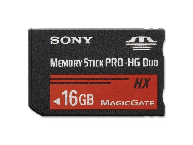SONY 16GB Memory Stick PRO-HG Duo HX Flash Card Model MSHX16B