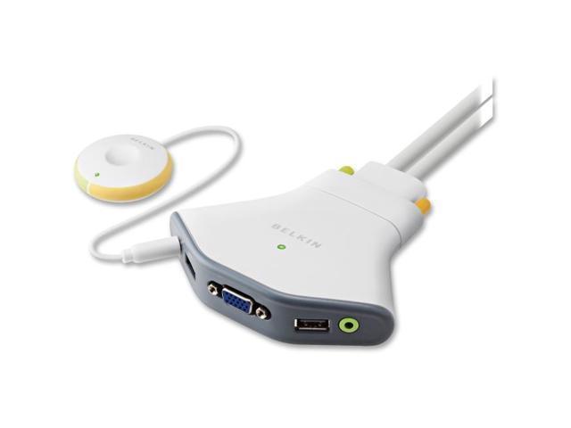 Linksys Flip USB with Audio KVM Switch