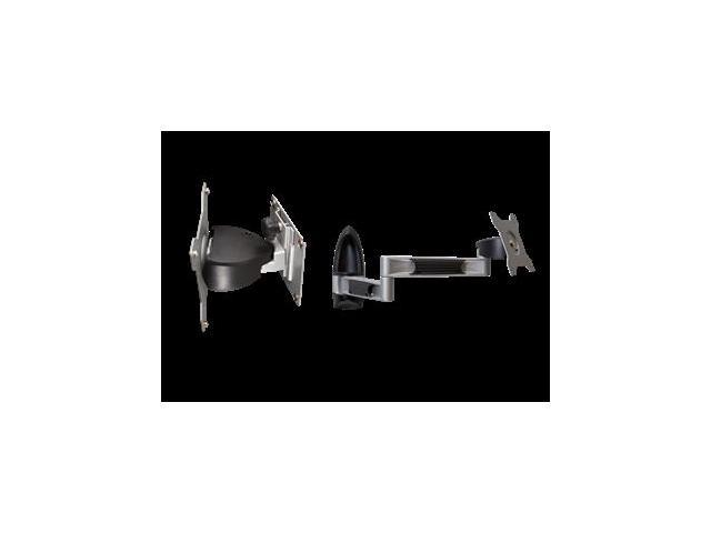 FIXED WALL MOUNT FOR PORTRAIT ORIENTATION: 1 IN. LOW-PROFILE DESIGN, POST-INSTAL