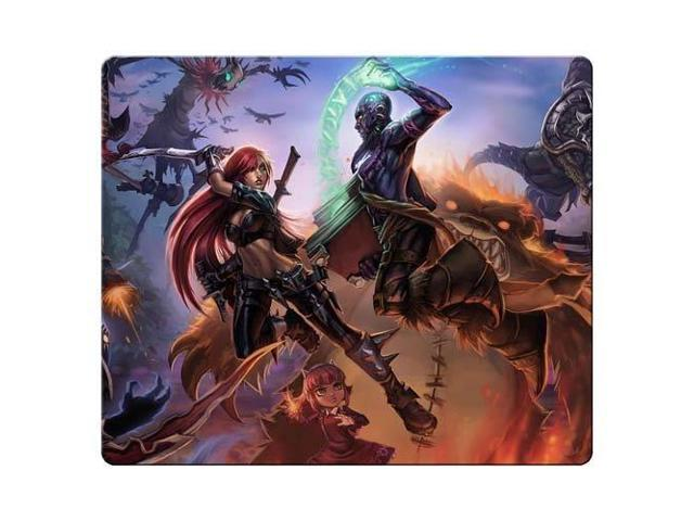 Gaming Mouse Pads rubber & cloth Durable Material permanent league of legends 9
