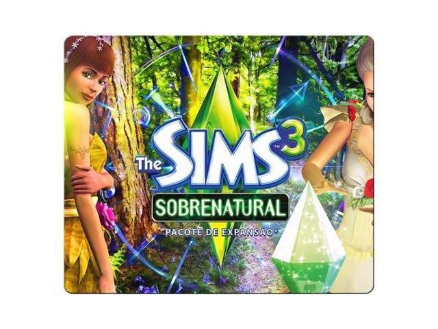 Game mousemats cloth - rubber rubber and cloth Optical The Sims 9