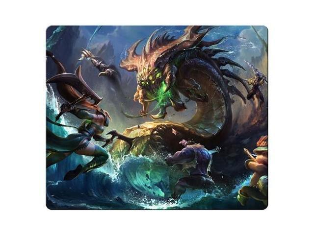 game Mouse Pad cloth * rubber Customized Stable league of legends 9