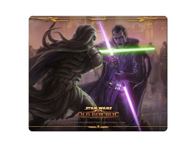gaming mousemat rubber / cloth smooth fabric surface star wars the old republic 9
