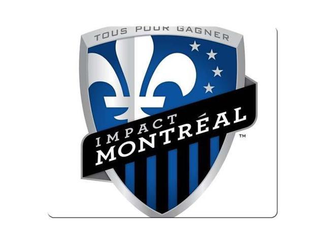 Game Mouse Pads rubber & cloth soft black rubber back Montreal Impact 9