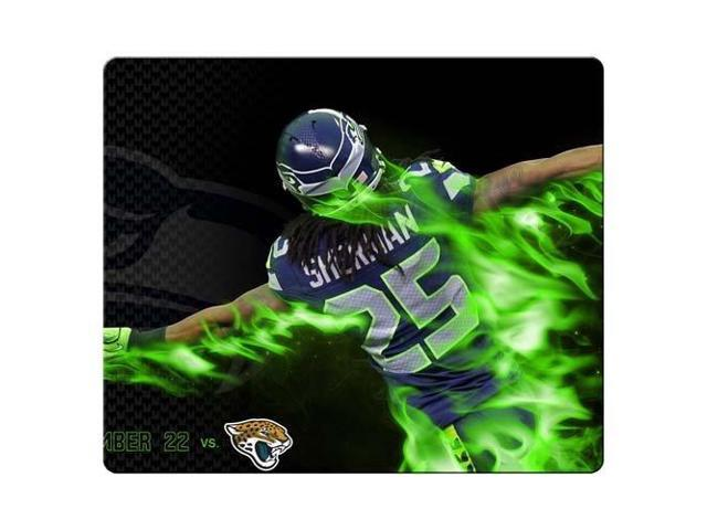 Game Mouse Mats rubber * cloth latest high technology low-friction Seattle Seahawks 9