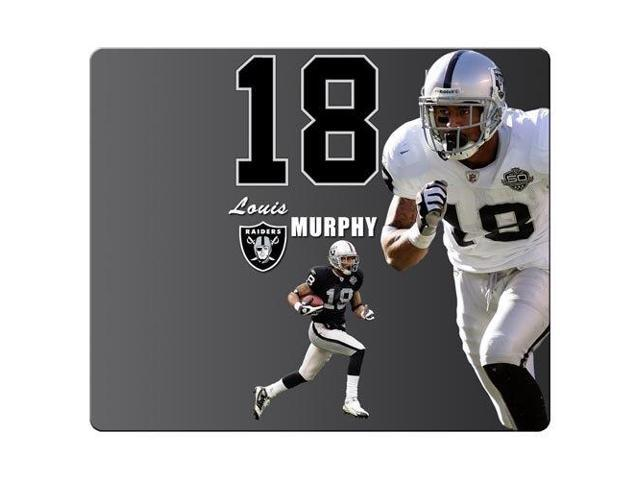 Mouse Mat rubber * cloth Rubber Backing durability Oakland Raiders nfl football logo 9