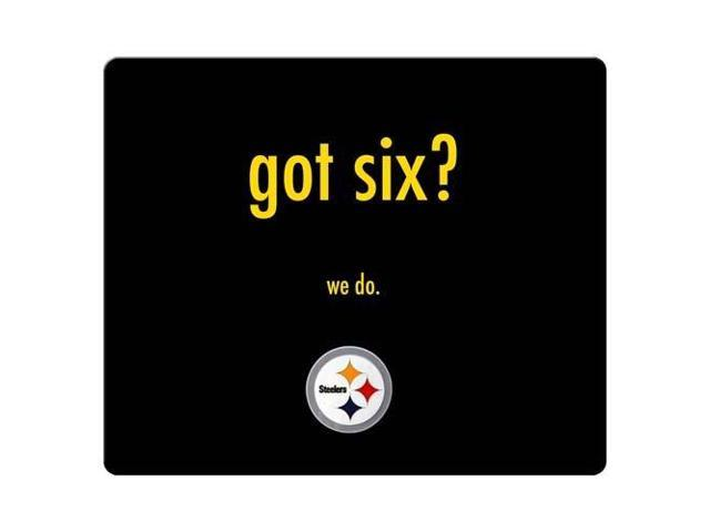 Mouse Mats rubber / cloth Beautiful permanent Pittsburgh Steelers 8