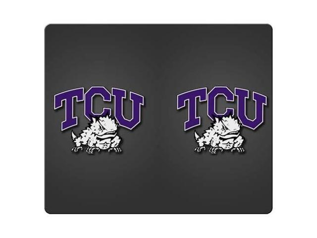 Mouse Pad rubber cloth Nonslip Soft tcu horned frogs 9
