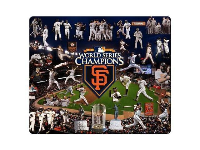 Game Mouse Pads cloth rubber water resistant personal computer San Francisco Giants 9