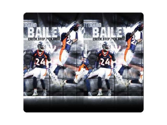 Gaming Mouse Pad rubber - cloth stain and water resistant office denver broncos 9