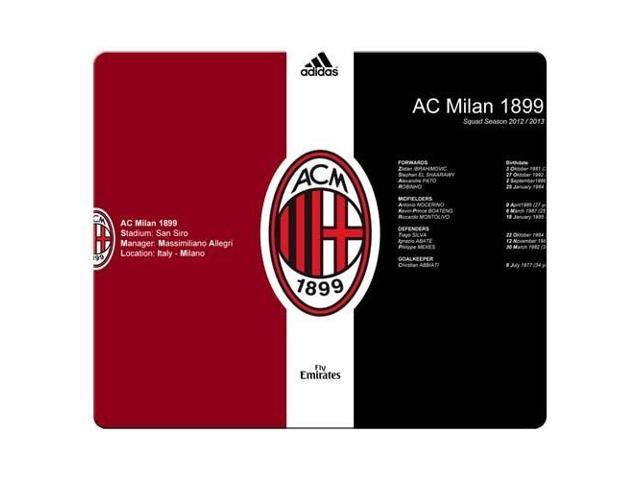 gaming mouse mat rubber and cloth Rough Premium AC Milan 9