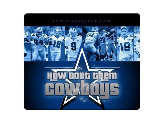 Mouse Pads rubber / cloth Natural Non-Skid Dallas Cowboys 9