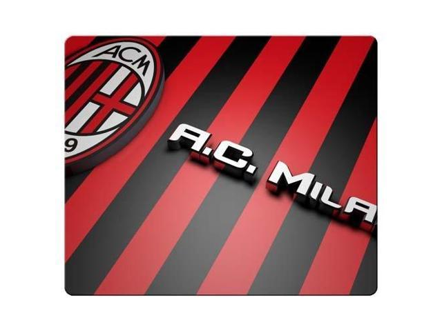 Gaming Mouse Pad cloth / rubber Super Soft durability AC Milan 9