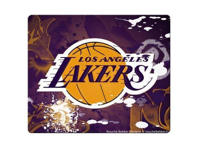 game Mouse Mat cloth rubber Rubber Backing durable materials L.A. Lakers NBA Basketball logo 9