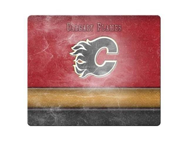 Game Mouse Mats cloth rubber Natural black rubber back Calgary Flames 9