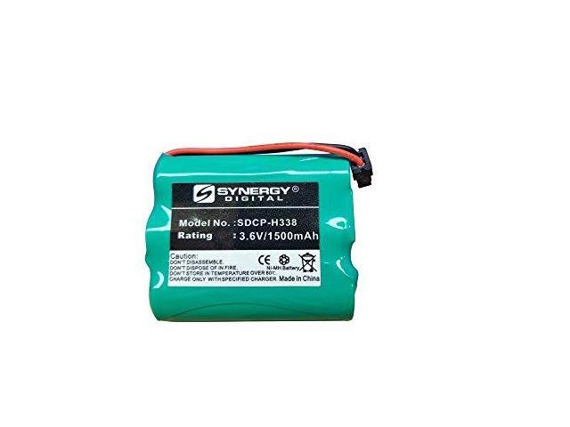 Uniden BT-905 Cordless Phone Battery Ni-MH, 3.6 Volt, 1500 mAh - Ultra Hi-Capacity - Replacement for Panasonic HHR-P505 Rechargeable Battery