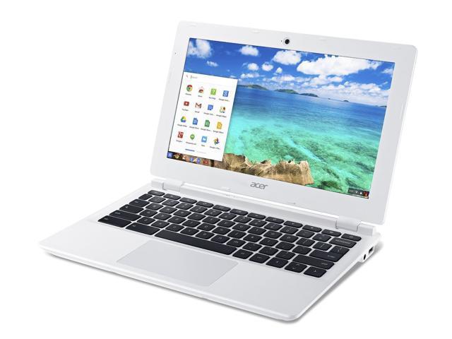 Acer CB3-111-C4GD Chromebook Intel Celeron N2830 (2.16 GHz) 2 GB Memory 16 GB Internal Storage HDD 11.6