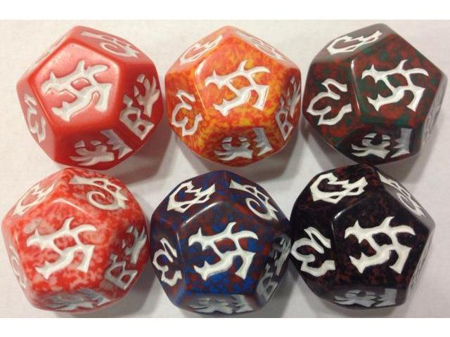 Dragon Dice: Dragons! Red Drake Set 2022