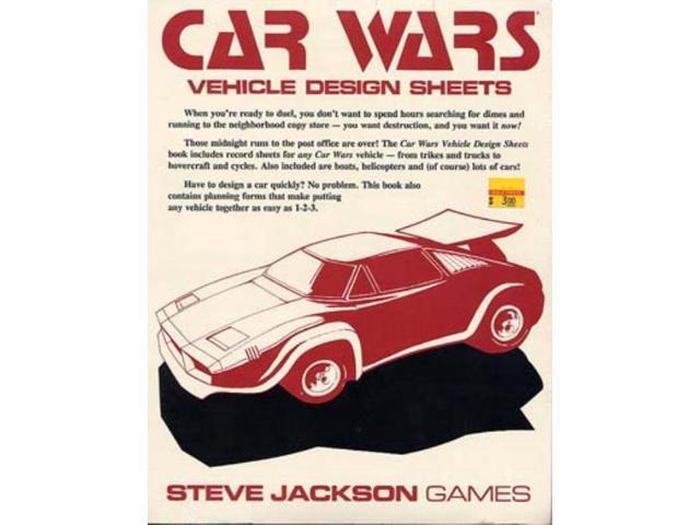 Vehicle Design Sheets SW (MINT/New)