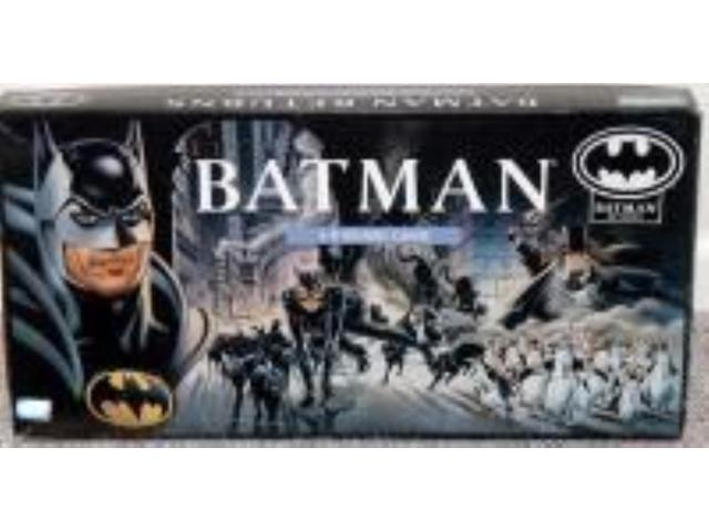 Batman Returns - 3-D Board Game Fair/VG+