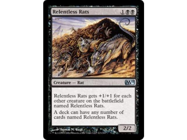 Relentless Rats (U) NM