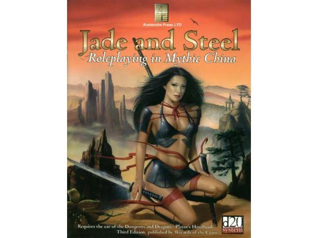 Jade and Steel - Roleplaying in Mythic China NM