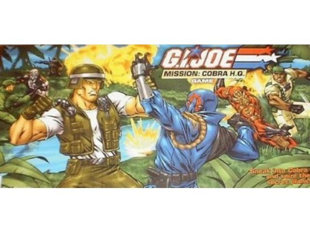 G.I. Joe - Mission, Cobra H.Q. Game VG/VG+