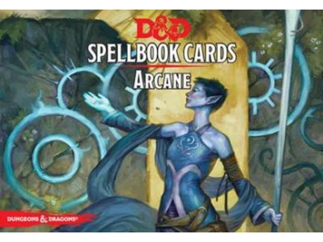 Spellbook Cards - Arcane (2nd Printing) MINT/New