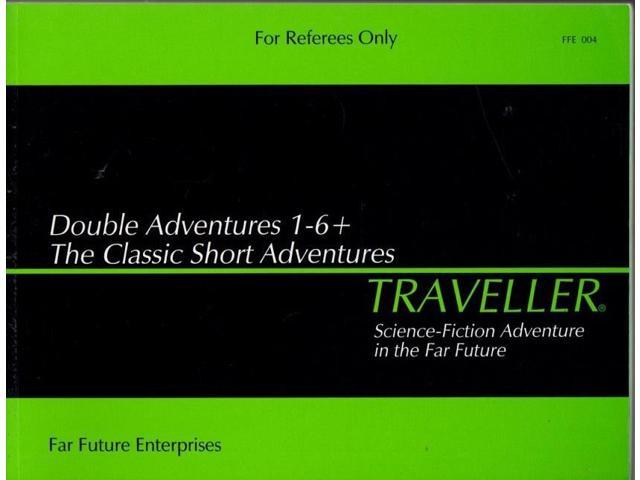 Double Adventures #1-6 + The Classic Short Adventures VG+