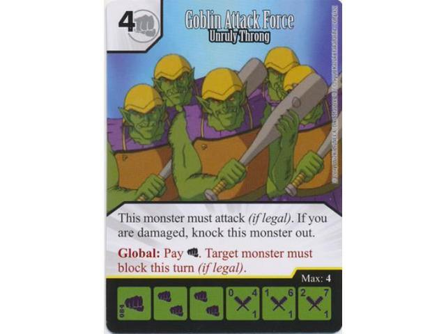 Goblin Attack Force - Unruly Throng NM