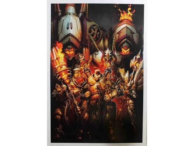Protectorate of Menoth Command - Poster MINT/New