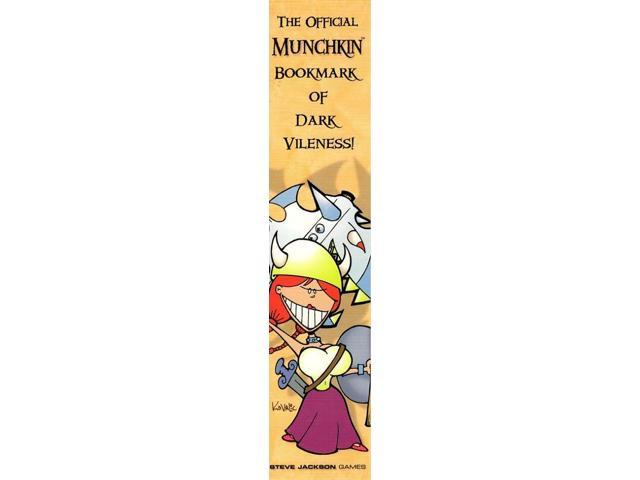 Official Munchkin Bookmark of Dark Vileness (1st Printing) VG