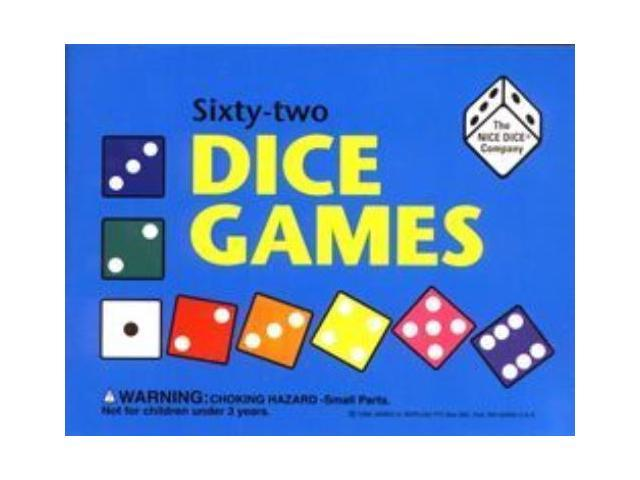 Sixty-Two Dice Games w/Book & Dice MINT/New