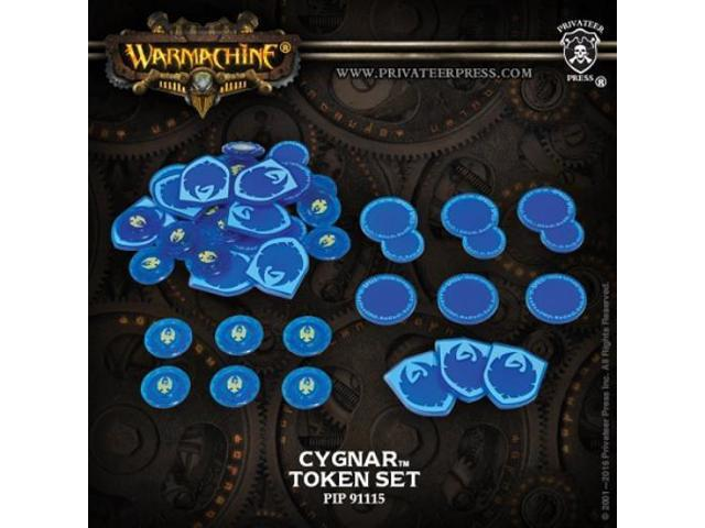 Token Set - Cygnar (2016 Edition) MINT/New