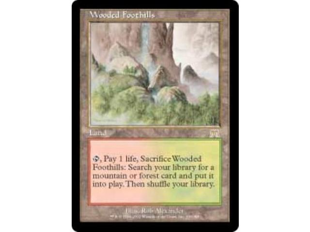 Wooded Foothills (R) VG+