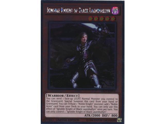 Ignoble Knight of Black Laundsallyn (Platinum Rare) NM