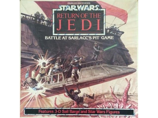 Star Wars - Return of the Jedi - Battle at Sarlacc's Pit VG